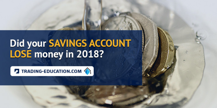 Did Your Savings Account Lose Money in 2018