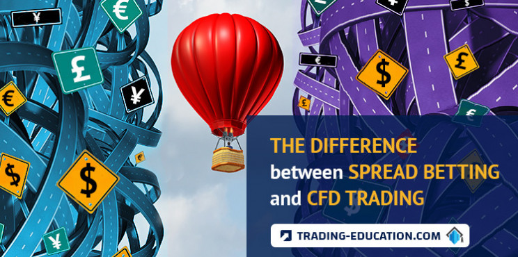 The Difference Between Spread Betting and CFD Trading