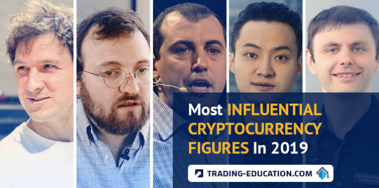 Most Influential Cryptocurrency Figures In 2019