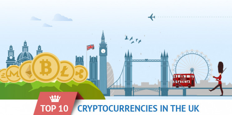 What Are The 10 Most Popular Cryptocurrencies In The UK?