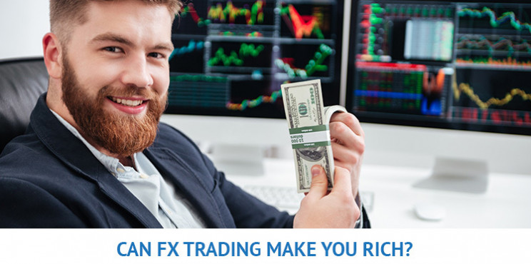 Can You Get Rich By Trading Forex?