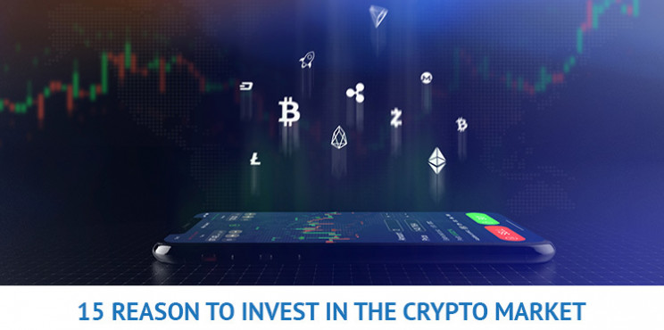 The Top 15 Reasons to Invest in Cryptocurrencies