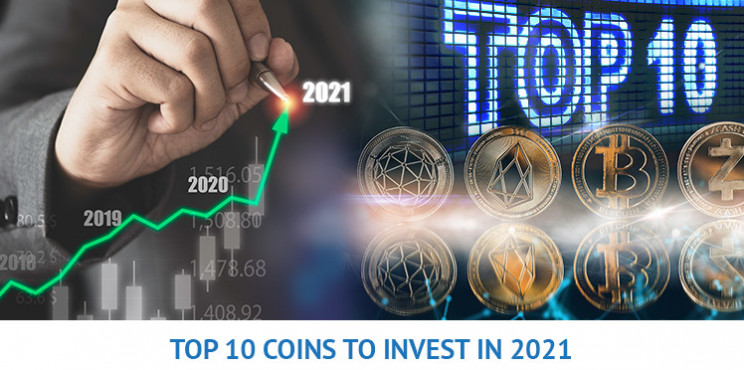 What Are The Top 10 Digital Coins Set To Explode In 2021?