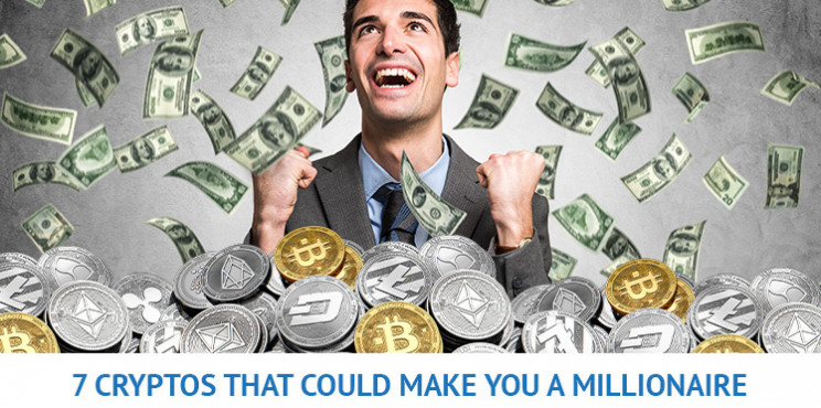 7 Top Cryptocurrencies That Could Make You a Millionaire in 2021
