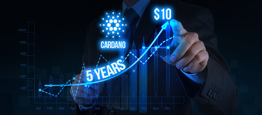 Is Cardano (ADA) Expected To Reach $10 Or More In The Next Five Years?