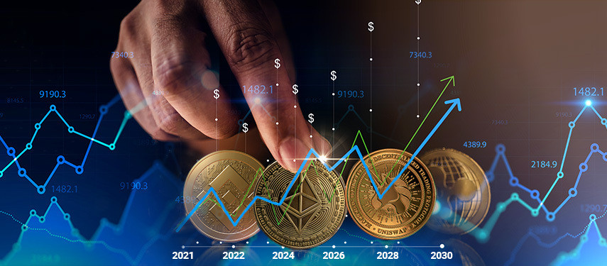 4 Cryptocurrencies That Could Be Worth $1 Trillion by 2030