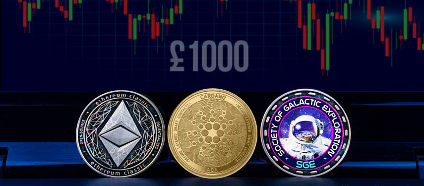 With £1000 To Invest, These Top 3 Cryptocurrencies In October