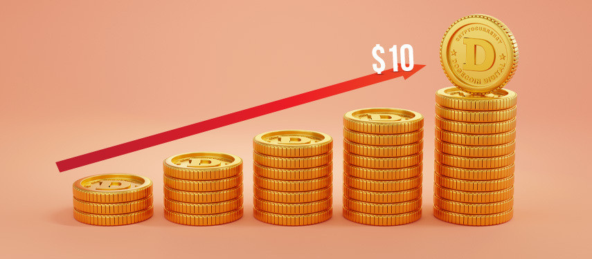 Can Dogecoin Realize the Target of $10 Any Time Soon?