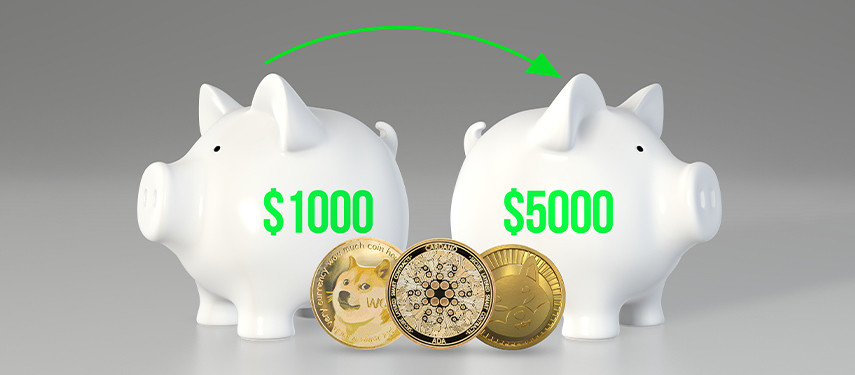 3 Cryptocurrencies That Could Turn $1,000 Into $5.000 (Or More)
