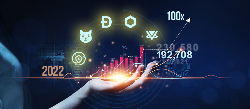 What Are The Top 5 Cryptocurrencies That Can Deliver 100x By The End Of 2022?