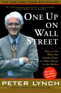 one up on wall street book by Peter Lynch