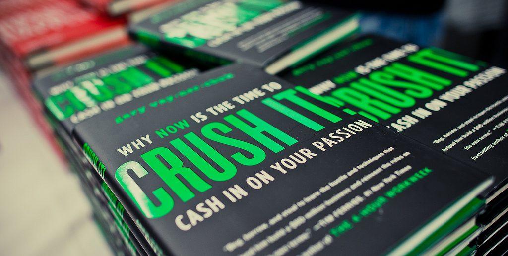 crush it book by Gary Vaynerchuk