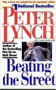 beating the street book by Peter Lynch