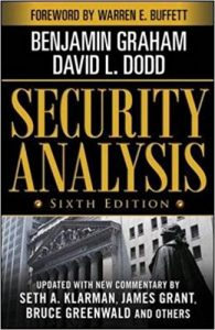 Security Analysis: sixth edition by Warren Buffett