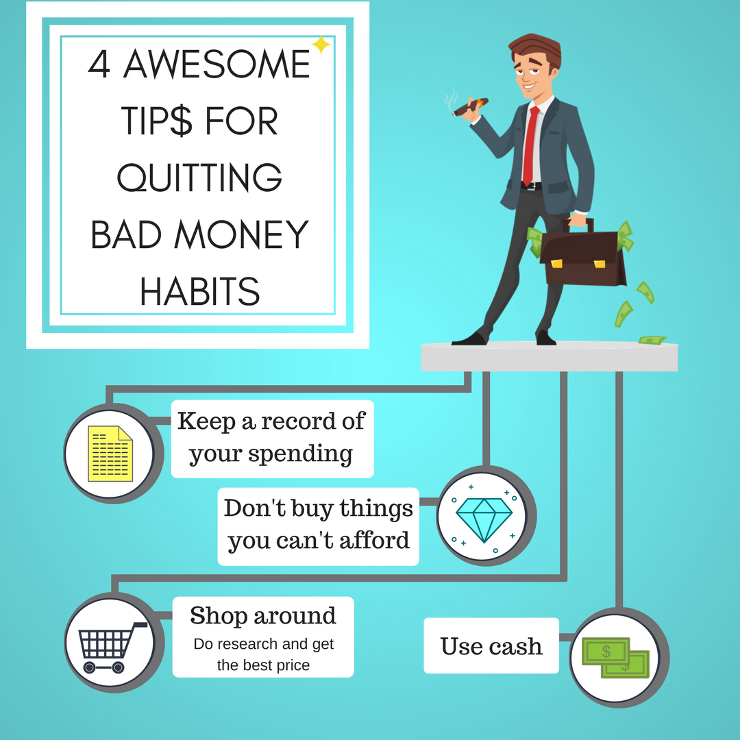 tips for quitting bad money habits