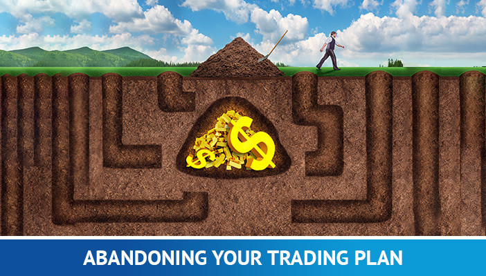 abandoning your trading plan, mistakes forex traders make