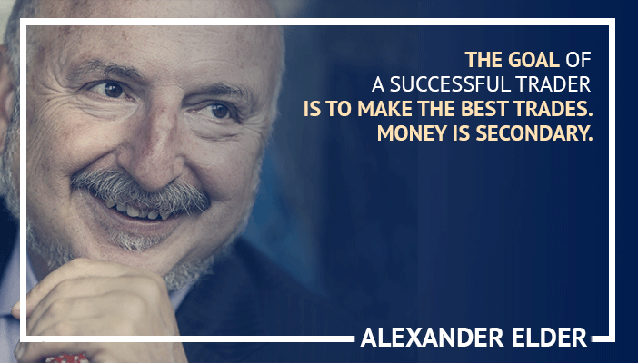 Inspirational trading quotes by Alexander Elder