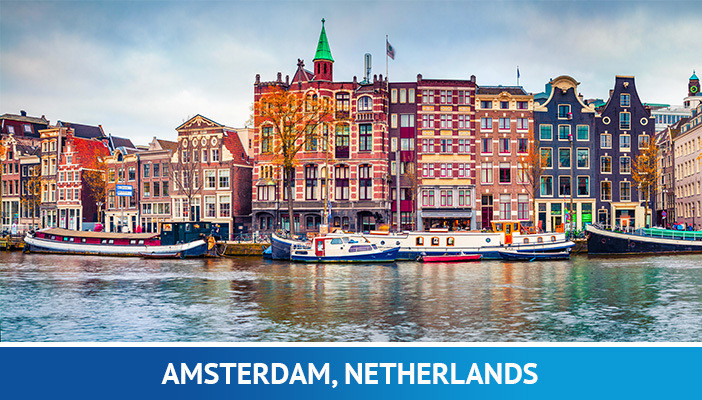 Amsterdam, most crypto friendly cities