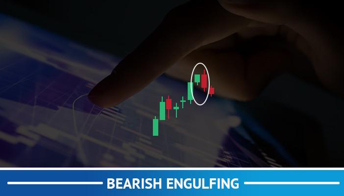 bearish engulfing, candlestick  pattern