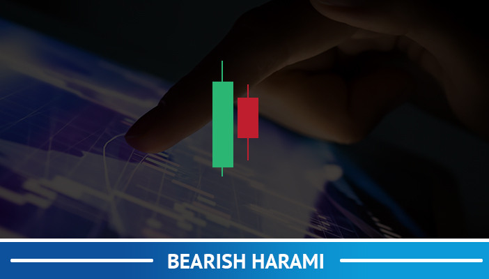 bearish harami, candlestick pattern