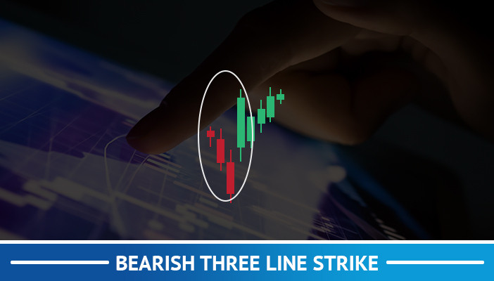 bearish three line strike, candlestick pattern