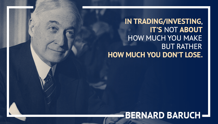 Inspirational trading quotes by Bernard Baruch