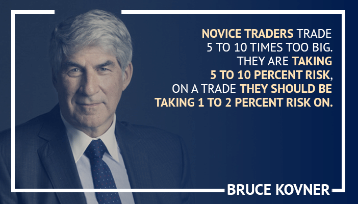 Inspirational trading quotes by Bruce Kovner