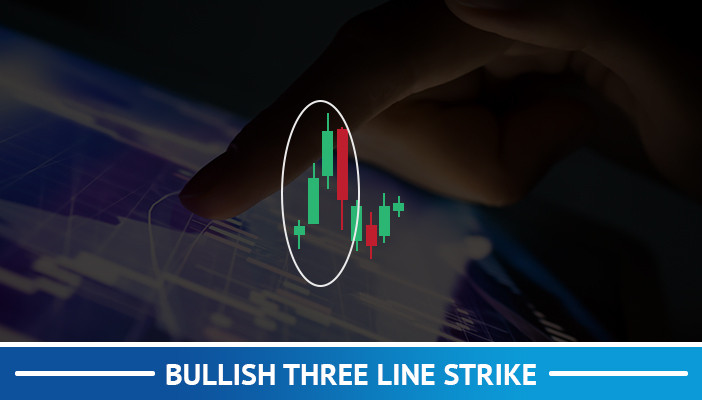 bullish three line strike, candlestick pattern
