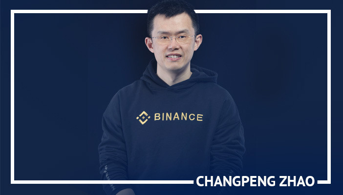 Changreng Zhao, most influential cryptocurrency figures