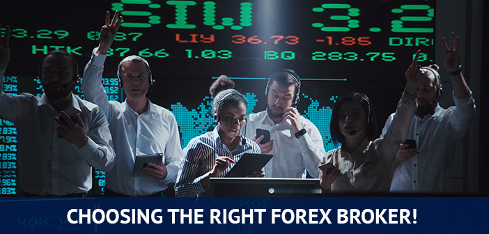 start trading by choosing the right forex broker