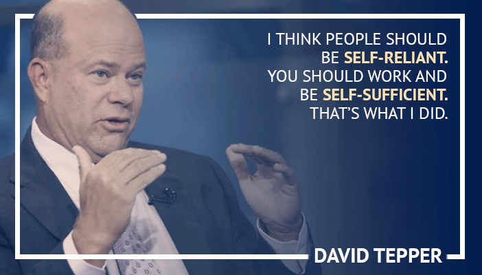the richest traders in the world David Tepper