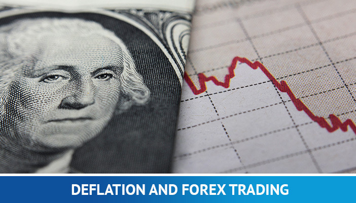 deflation and forex trading