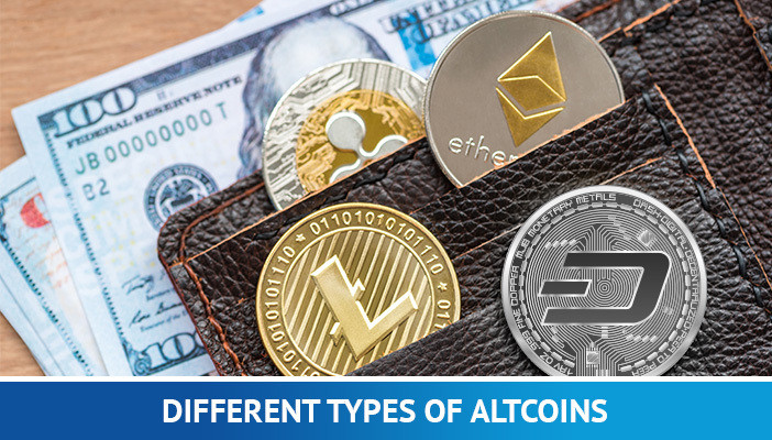 types of altcoins