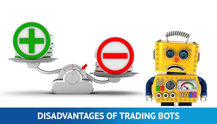 disadvantages of crypto trading bots