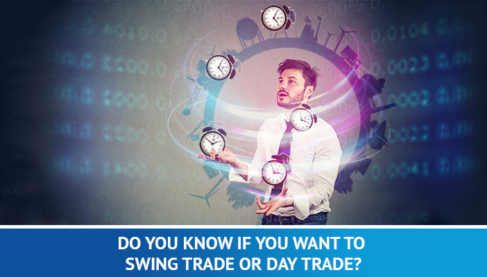 swing trade or day trade, full-time trading