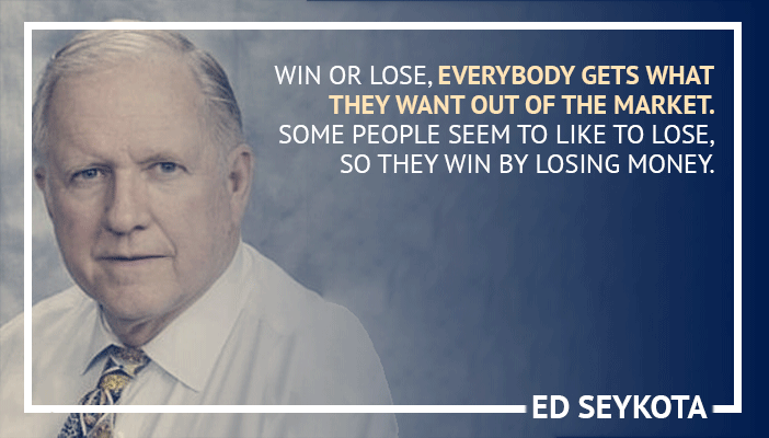 Inspirational trading quotes by Ed Seykota