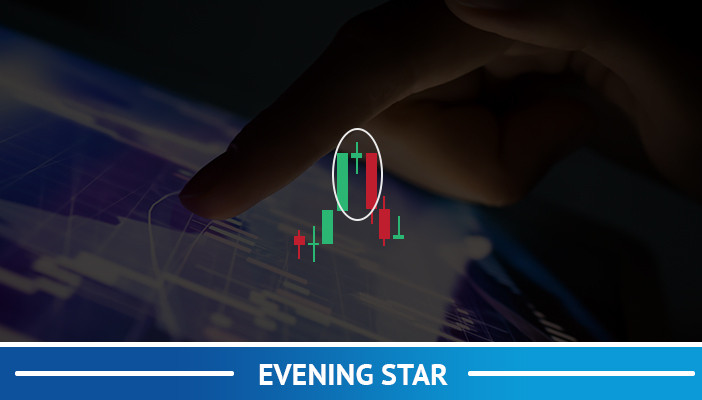 evening star, candlestick pattern