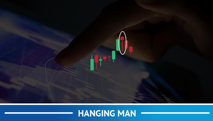 hanging man, candlestick pattern