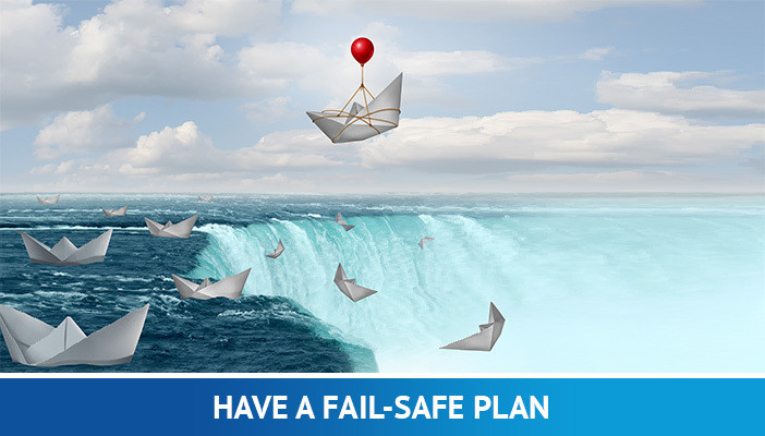 have a self-safe plan