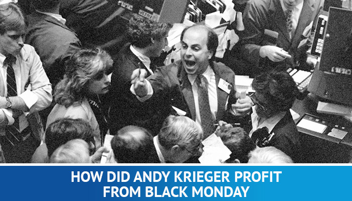 how Andy Krieger profit from black Monday