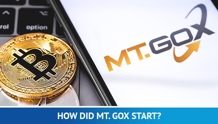 start of Mt Gox, bitcoin exchange