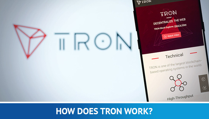 how does tron work, tron cryptocurrency