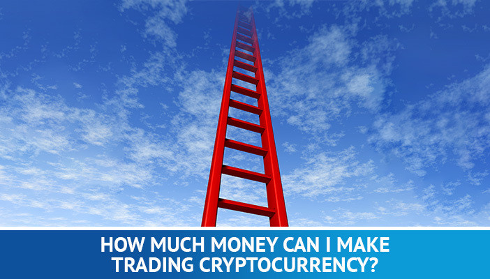 how much can you make trading cryptocurrencies