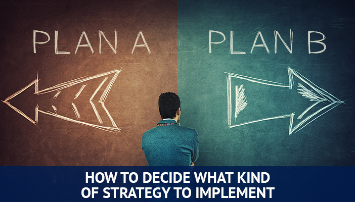 what kind of trading strategy to implement