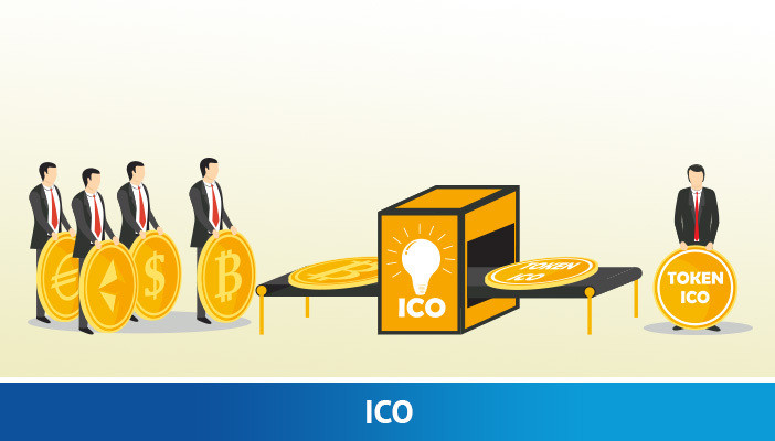ico, cryptocurrency term