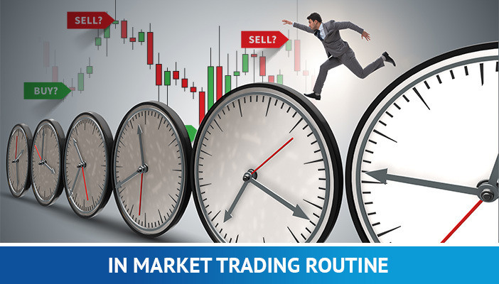 in market trading routine