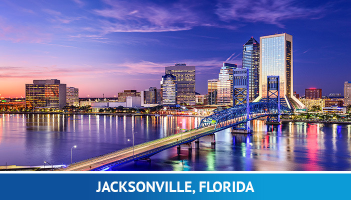 Jacksonville, most crypto friendly cities