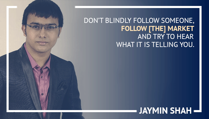 Inspirational trading quotes by Jaymin Shah
