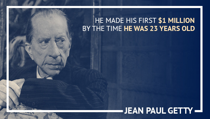 jean paul getty, famous day traders