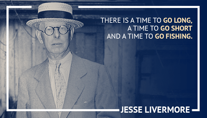 Inspirational trading quotes by Jesse Livermore